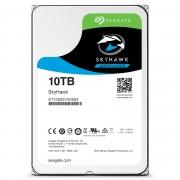 Seagate Segate HDD SkyHawk 10TB 256MB 7.2K 3.5' SATA 3-yr limited warranty