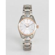 Roamer Часы с золотисто-розовой отделкой и браслетом из нержавеющей стали Roa