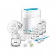 Avent Natural Starter Set ALL IN ONE sa sterilizatorom (SCD293/00)