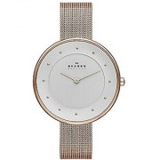 Skagen Analog White Round Mens Watch-SKW2142