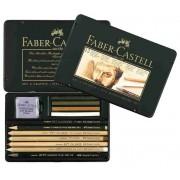 Set Pitt Monochrome Faber-Castell 12 buc/set