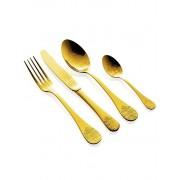 Комплект прибори за хранене HERDMAR POMPADOUR старо злато - 24 части