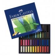 Creioane colorate Pastel Soft Mini 48 culori Faber-Castell