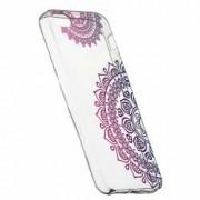 Husa Silicon Transparent Slim Non-Figurative Color Apple iPhone 5 5S SE