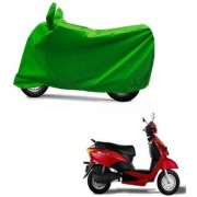 AutoAge Full Green Two Wheeler Cover For Yo Spark