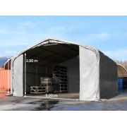 taltpartner.se Tälthallar 7x7m PVC 550 g/m² grå vattentät