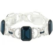 LAUREN Ralph Lauren 75quot Stone Drama Line Bracelet Blue