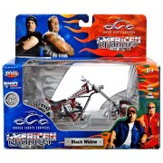 2004 - RC2 Brands / ERTL / Joy Ride - Orange County Choppers - American Chopper The Series - Black Widow - 1:18 Scale - Die Cast Metal - 1of 9 in Series - New - MIB - Limited Edition - Collectible