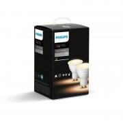 Philips Hue White Ambiance GU10 pakke med 2 Led Pærer