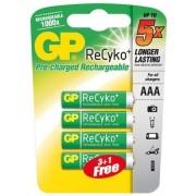baterie nabíjecí ReCyko plus 820 mAh AAA, blistr (4 ks)