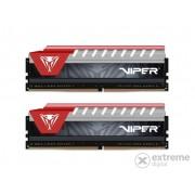 Memorie PATRIOT 32GB/2400MHz DDR-4 Viper Elite rosu (Kit 2 buc 16GB) (PVE432G240C5KRD)