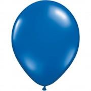Balon Latex Sapphire Blue, 5 inch (13 cm), Qualatex 43602, set 100 buc