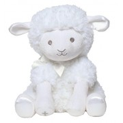 "C.R. Gibson 12"" Hush Little Baby Plush Lamb Musical Wind-Up Toy, By Baby Dumpling - Jesus Loves Me"