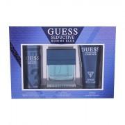 GUESS Seductive Homme Blue confezione regalo eau de toilette 100 ml + doccia gel 200 ml + deodorante 226 ml uomo