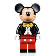 LEGO Disney MiniFigure - Mickey Mouse (w/ Tuxedo Jacket) from Disney Castle 71040