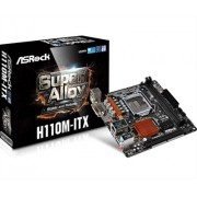 PLACA i3/i5/i7 ASROCK H110M-ITX MINI ITX (S. 1151)