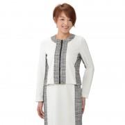 NbyA ツイードMIXストレッチジャケット【QVC】40代・50代レディースファッション
