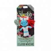 Voodoo talizmán textil 8cm A világ legjobb Nővérkéje
