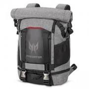 Раница Acer Predator Gaming Rolltop Backpack Сиво и черно до 15 инча, NP.BAG1A.255