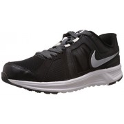 Nike Men's Revolve Black,Metallic Silver,Dark Grey,White Running Shoes -7 UK/India (41 EU)(8 US)