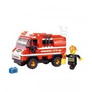 Sluban. Jeu De Construction - Serie Pompiers - Camionette De Pompier