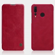 NILLKIN Qin Series Leather Card Holder Case for Huawei P Smart Plus 2019 / Enjoy 9s/ Maimang 8 / Honor 10i / nova 4 lite - Red