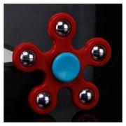 Fidget Spinner Rodamiento De Bolas De Juguete De Relieve -Rojo