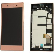 Sony Xperia XZ Premium G8141 LCD Display Module + Touch Screen Display + Frame, Roze, 1307-9873