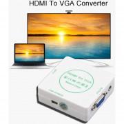 ER HD De Vídeo HDMI A VGA Y Un AUDIO Señal De Audio Analógica