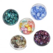 ELECTROPRIME® 10Pcs 18mm Snaps Button for Snap Style Noosa Bracelet Rings Jewelry