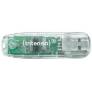PENDRIVE 32GB USB2.0 INTENSO RAINBOW TRANSPARENTE
