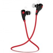 VMBS Jogger Wireless Bluetooth V 4.1 Wireless Stereo Headphones With Mic Red