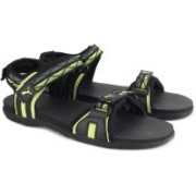 Puma Women Puma Black-Nrgy Yellow Sports Sandals
