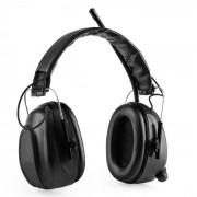 Auna Jackhammer BT, слушалки за предпазване на слуха, FM радио, 4.0 bluetooth, AUX-In, SNR 28 dB (JP3-JackBT BK)