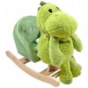 Balansoar cu Jucarie de Plus Happy Children - Dinozaurul Nelson