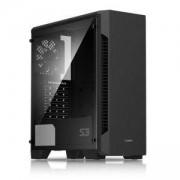 Кутия за настолен компютър ZALMAN S3 ATX Мid Тower, черен, ZM-S3_VZ