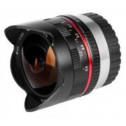 SAMYANG 8mm F/2.8 UMC Fish-eye - FUJI X - NERO - 2 Anni Di Garanzia