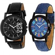 DCH IN-6.23 Pack Of 2 Analogue Wrist Watches For Men And Boys