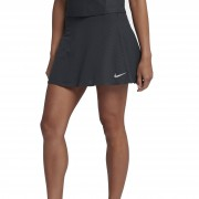 Nike Court Zonal Cooling Skirt Black/Anthracite/Silver S