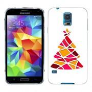 Husa Samsung Galaxy S5 Mini G800F Silicon Gel Tpu Model Brad De Craciun Abstact