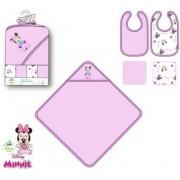 Minnie baba előke és kifogó szett (5 db-os)