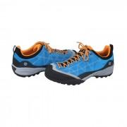 Pantofi piele intoarsa sport barbati - albastru, portocaliu, Scarpa - 72530-350-Azure-Orange