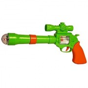 only4you Projection Music Strike Electric Gun Toy