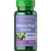 vitanatural bilberry - bosbes 1000 mg 90 softgels