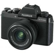 Fujifilm X-T100 + Xc 15-45mm Fotocamera Digitale Mirrorless 24 Megapixel Kit X-T100 + Xc 15-45mm F3.5-5.6 Ois Pz
