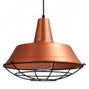 Masterlight Industrie hanglamp roodkoper Industria 35 2546-55-C