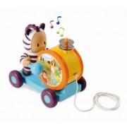 Smoby Cotoons Punky Tambourine, Multi Color