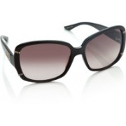 Celine Dion Over-sized Sunglasses(Brown)