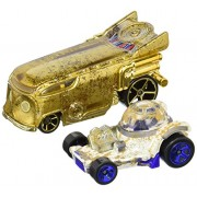 Hot Wheels Star Wars R2 D2 And C 3 Po Character Car 2 Pack