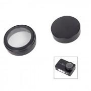 casquillo de los deportes lente UV + sistema de la cubierta protectora para la camara 4K 2 xiaoyi